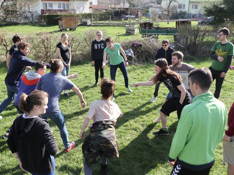 Jugendteamer Schulung