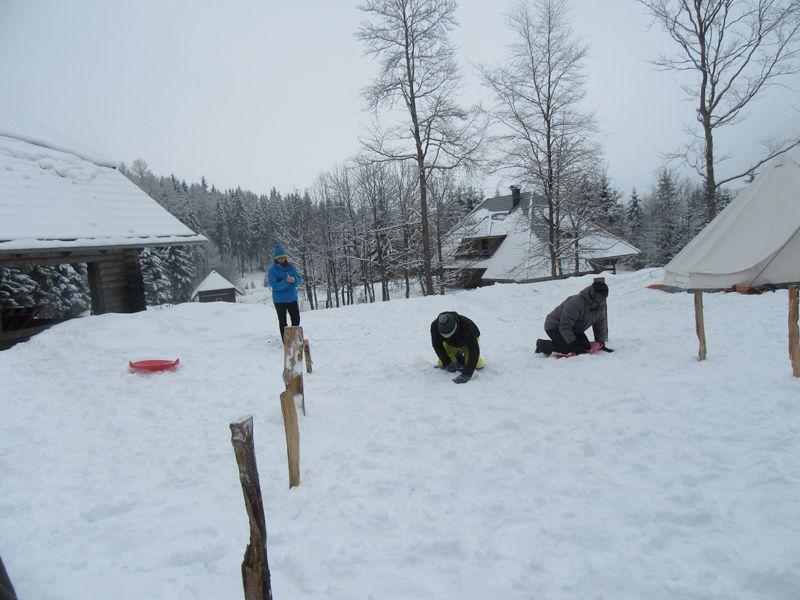 Schneezelten