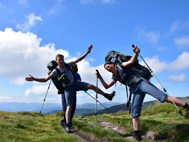TeamerInnen Spaß Trekking